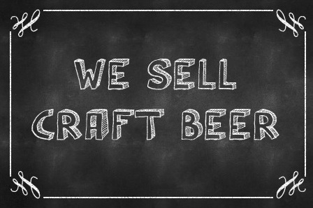 chalkboard-we-sell-craft-beer